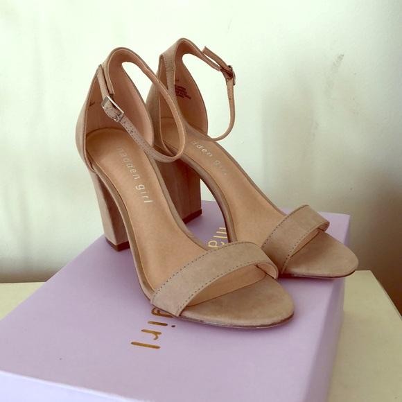 c6917df79e Madden Girl Shoes - Madden Girl Bella Two-Piece Block Heel Sandals